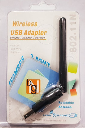 USB Wi-Fi Adapter 2.4ghz с антенной, фото 2