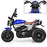 Электромотоцикл детский с надувными колесами BQ-8188, синий, фото 2