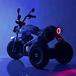 Электромотоцикл детский с надувными колесами BQ-8188, красный, фото 5