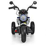 Электромотоцикл детский с надувными колесами BQ 8188, белый, фото 3