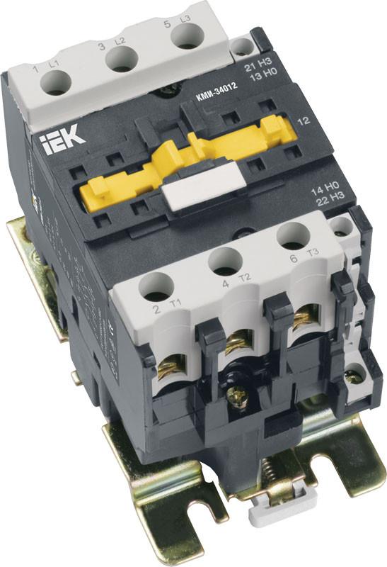 Контактор КМИ-34012 40А 380В (3вел) IEK