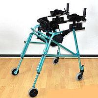 Опоры ходунки на 4 колёсах для детей с дцп