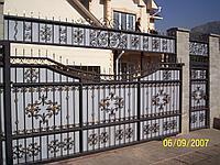 Ворота откатные каваные