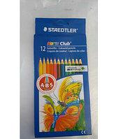 """Набор цветных карандашей """"STAEDTLER"""". картон 12 цветов"""