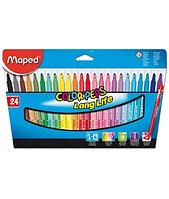 Фломастеры Maped Colorpeps 24 цвета