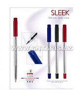 Шариковая ручка Cello Sleek Цвет чернил-красный.??
