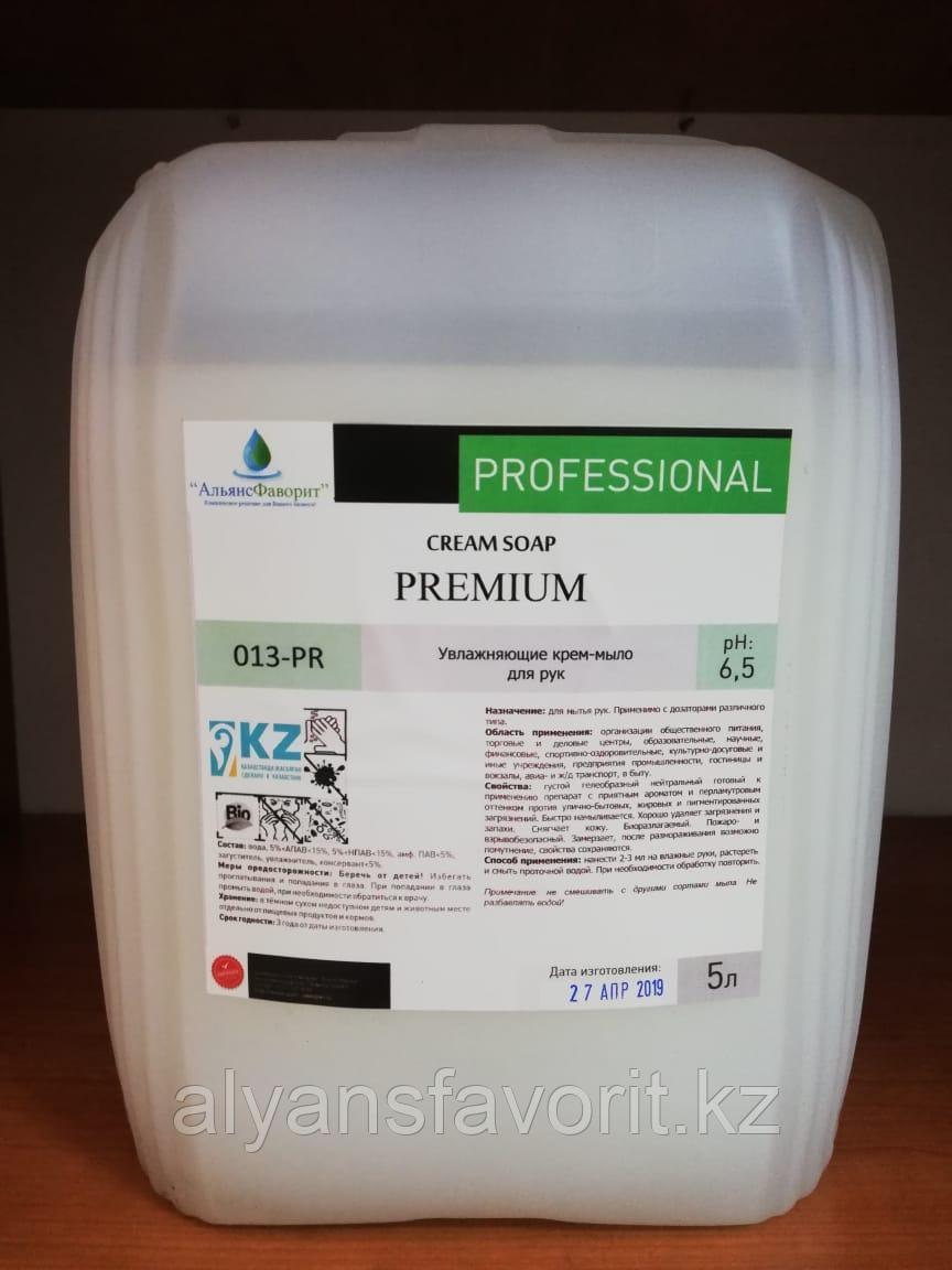 Premium - жидкое крем мыло  для рук. 5 литров.РК