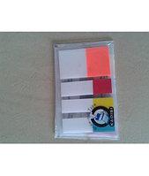 Набор Стикер-закладки KADISI 25*44 пластиковые прозрачные  4*25шт