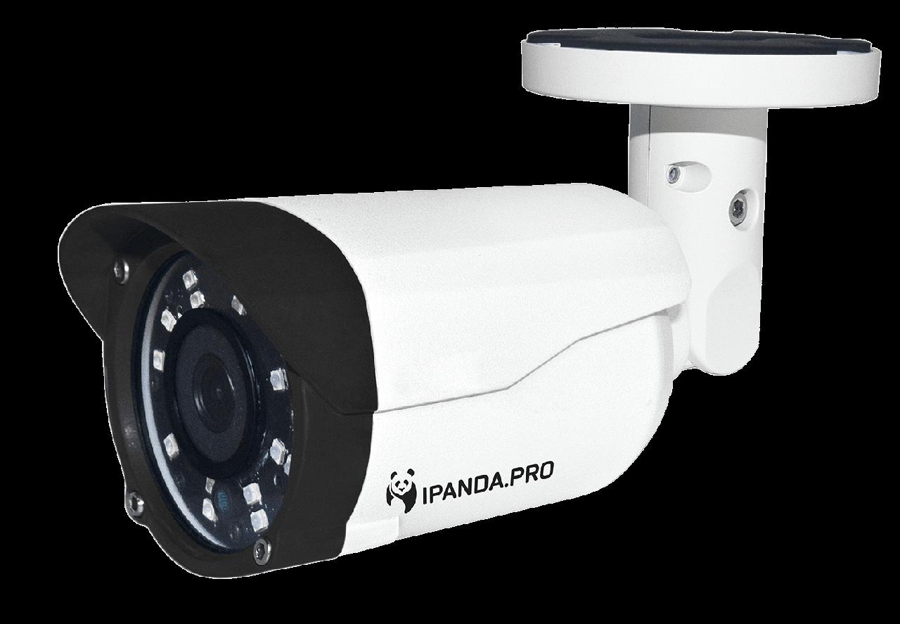 Цилиндрическая камера iPanda StreetCAM 1080s 2.8 мм ver.2 (число диодов увеличено с 12 до 18)