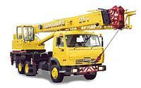 Услуги автокрана КС-55713-1 Галичанин 25 тонн
