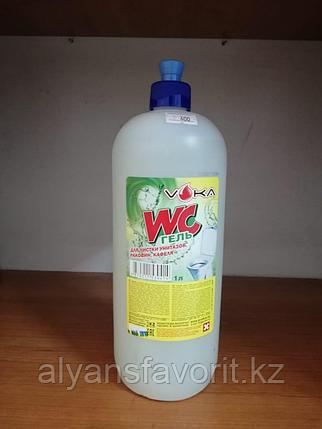 WC-ГЕЛЬ - средство для мытья унитазов и сантехники. 1 литр. РК, фото 2