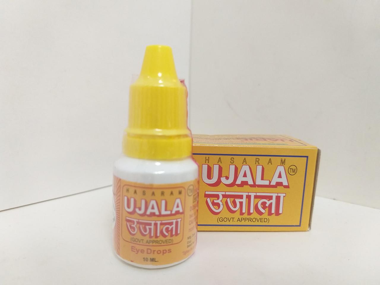 Глазные капли Уджала, Ujala, Hasaram, 10 мл