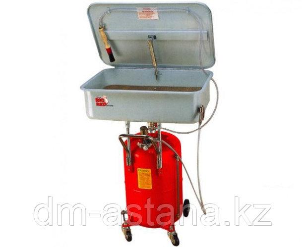 Установка для мойки деталей пневматическая 75л (красная) Torin