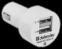 Зарядное устройство автомобильное Defender ECA-15