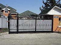 Кованые ворота калитка забор