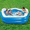 Семейный надувной бассейн Bestway Геометрия с сиденьями и подголовниками (54153), фото 3