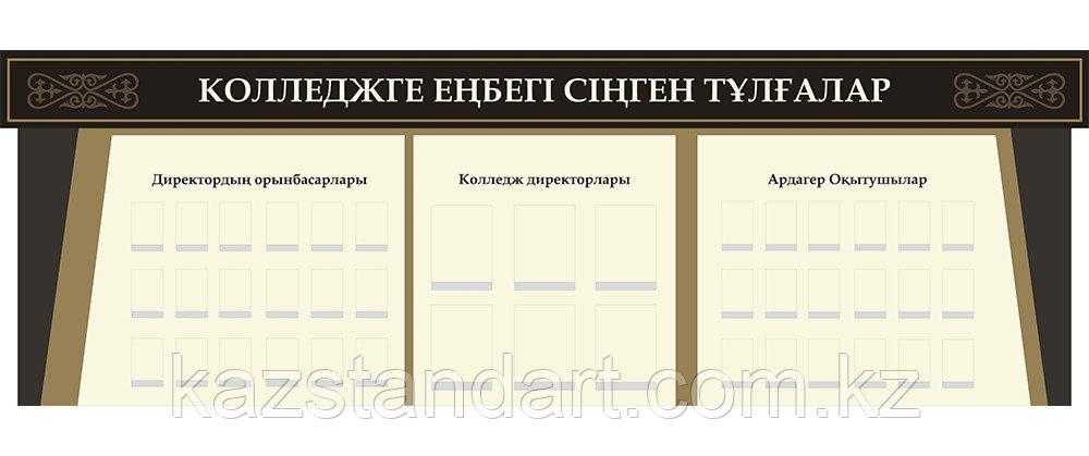 Информационные стенды для учебных заведений (Составные с объемными элементами) - фото 4