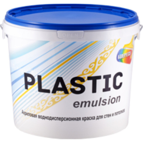 Краска водоэмульсионная Plastic emulsion 10 кг
