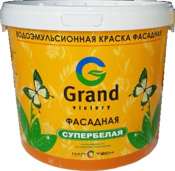 Краска водоэмульсионная GRAND VICTORY 901 (для полеровки) 5 кг