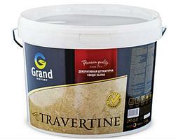 Штукатурка декоративная GRAND VICTORY TRAVERTINE цветная 25 кг