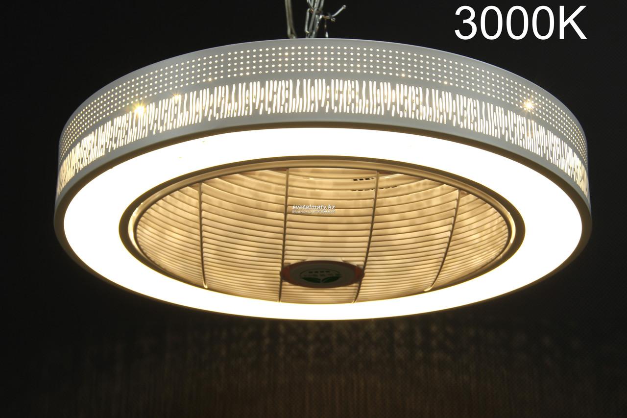 Потолочная LED люстра с Вентилятором (пульт в комплекте)