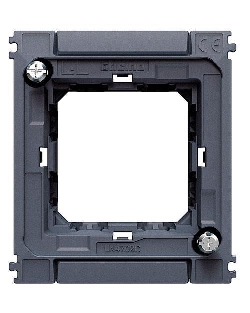 LN4702C LivingLight Суппорт для рамок AIR на 2 модуля