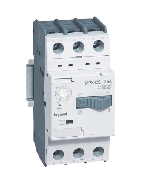 Автомат защиты двигателя Mpx3 T32s 26a 15ka