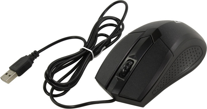 Мышь проводная Defender Optimum MB-270 черный 3 кнопки 1000 dpi