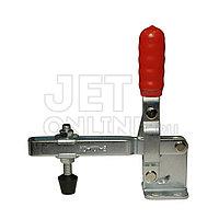 Зажим механический, рычажный с вертикальный ручкой, усилие 180 кг