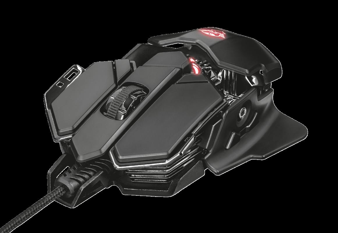 Мышь игровая Trust GXT138 X-RAY Illuminated черная