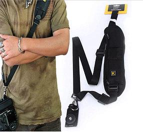 Ремень для фотоаппаратов Nikon Canon и Sony