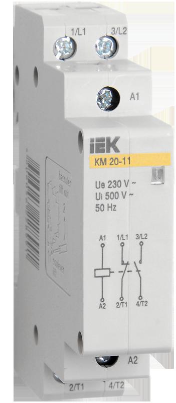 Контактор КМ20-20 АС/DC IEK