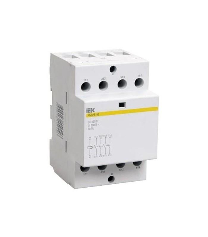 Контактор модульный КМ25-40 AC/DC IEK