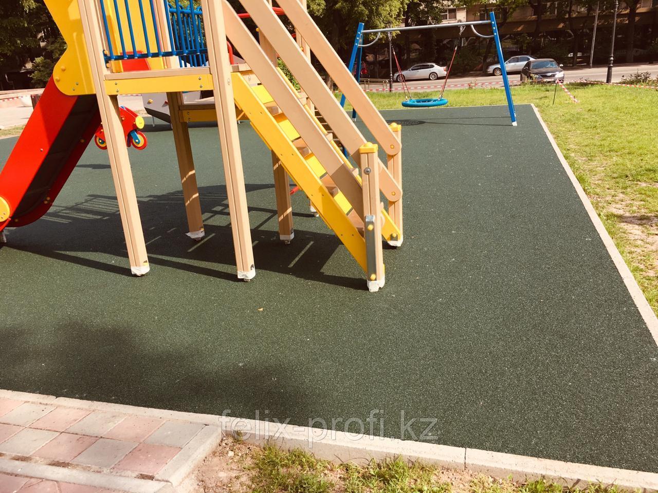 Резиновое(тартановое) покрытие для полов спортивных и детских площадок
