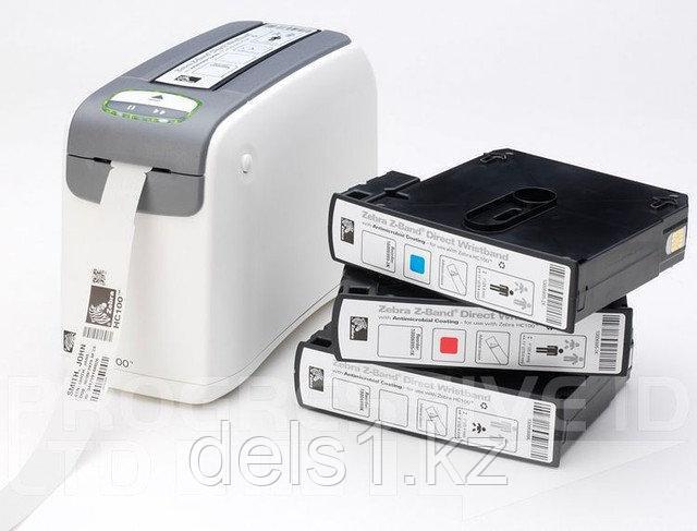 Принтер Zebra HC100  для печати браслетов