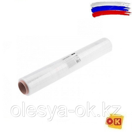 Стретч-пленка 500 мм, 17 мкм, 1 кг Россия, фото 2