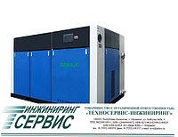 Двухвинтовой энергосберегающий маслозаполненный воздушный компрессор Denair DA-30+