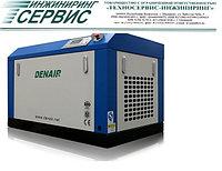 Двухвинтовой энергосберегающий маслозаполненный воздушный компрессор Denair DA-160+
