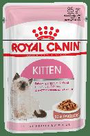 Влажный корм для котят от 4-х месяцев и беременных кошек Royal Canin Kitten Instinctive Pork Free в соусе
