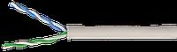 ITK Кабель связи витая пара U/UTP, кат.5E 2х2х24AWG solid, LSZH, 500м, серый