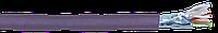 ITK Каб. в. п. F/UTP кат. 6 4х2х23AWG solid LSZH 305м фиол.