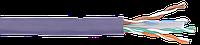 ITK Каб. в. п. U/UTP кат. 6 4х2х23AWG solid LSZH 305м фиол.