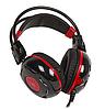 Наушники+микрофон игровые Bloody G300-Black+Red <20Hz-20kHz, 32 Om, 100dB (1KHz), 2.2m>, фото 2