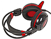 Наушники+микрофон игровые Bloody G300-Black+Red <20Hz-20kHz, 32 Om, 100dB (1KHz), 2.2m>, фото 3