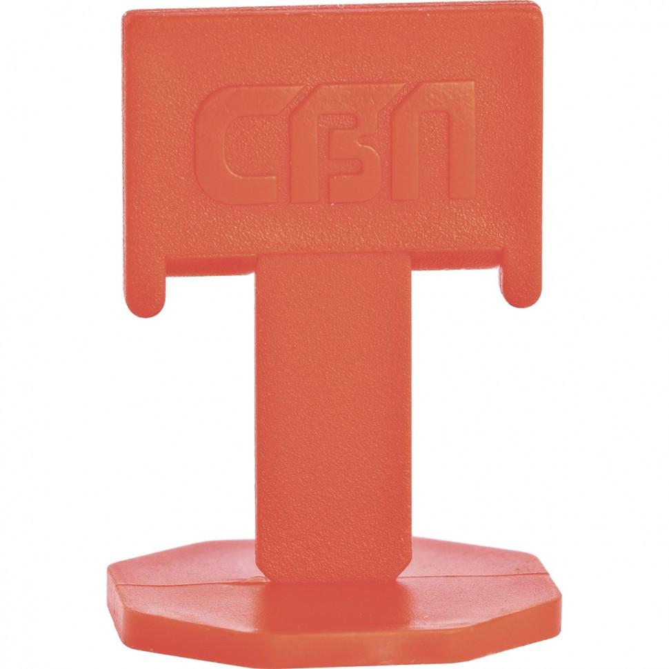 (88055) Система выравнивания плитки СВП - зажим 100 шт. (пакет ПЭНД)// Сибртех