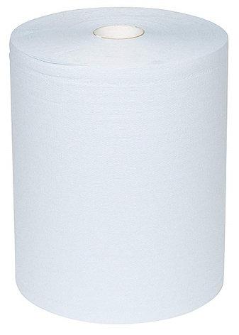 Протирочный материал в рулонах двухслойный голубой WypAll L20 Extra+ 7301 (500 листов в рулоне), фото 2
