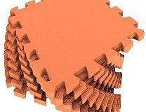 Универсальный коврик 33*33 (см) оранжевый, фото 2
