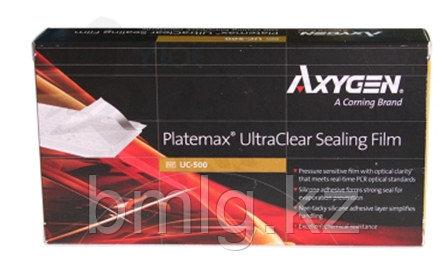 Пленки для ПЦР плашек полимерные (Real Time PCR, ультрапрозрачные, термостойкие, Axygen, 100 шт./уп.)UC-500