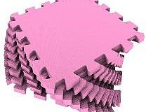 Универсальный коврик 33*33 (см) розовый