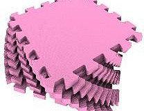 Универсальный коврик 33*33 (см) розовый, фото 2